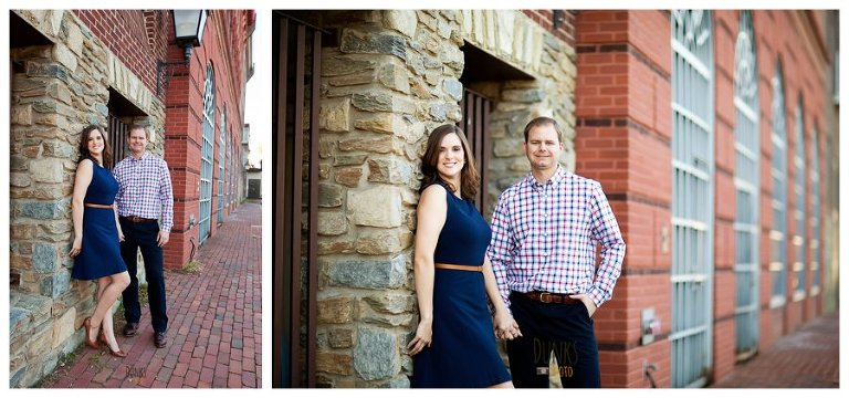 old town alexandria engagement -1